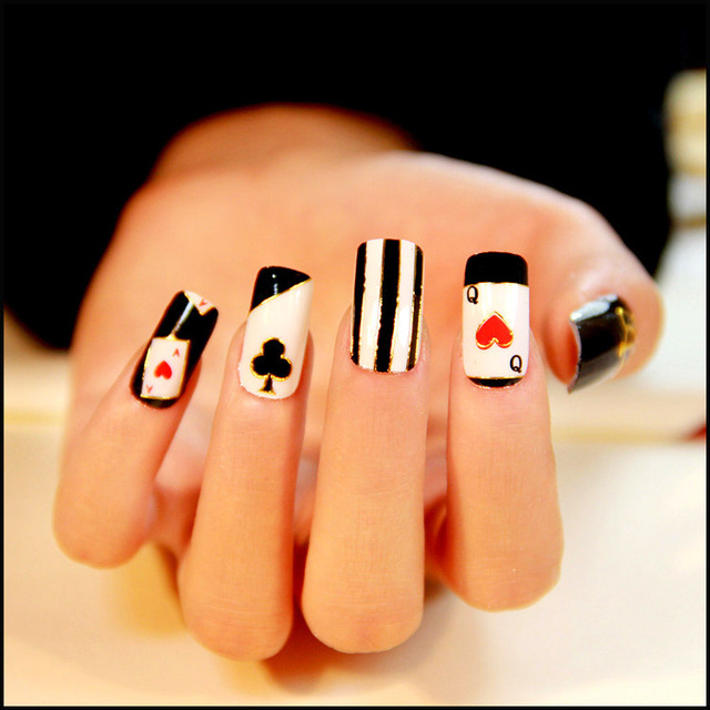 Nail Art Decorations Tools Hot Fashion Women Mnew Year Cure Stick ...