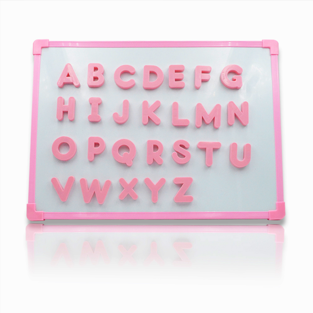 Seatrend Pink Color Plastic Alphabet ABC Magnet Magnetic Uppercase ...