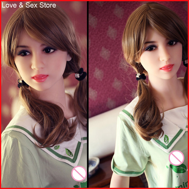 Real Silicone Sex Dolls Robot 158cm Japanese Toy Love Doll Realistic Toys For Men Big Breast Sexy Mini Vagina Adult Life Full 2016 sex doll with big breast oral vagina sex products real silicone sex dolls mini 100cm japanese life size sex dolls toys