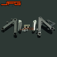 Footrests Front Foot Pegs Pedals Rest Footpegs For HONDA CBR250 MC22 1990 1997 90 91 92 93 94 95 96 97 Motorcycle