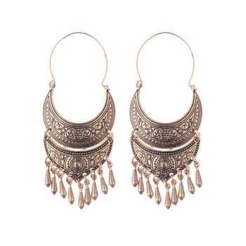 Ethnic Earrings Rose Gold Indonesia