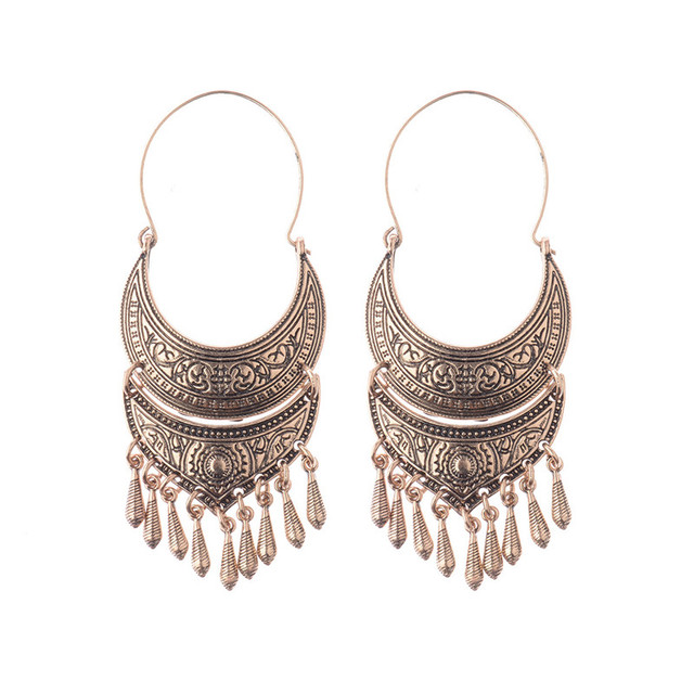Ethnic Earrings Rose Gold Indonesia