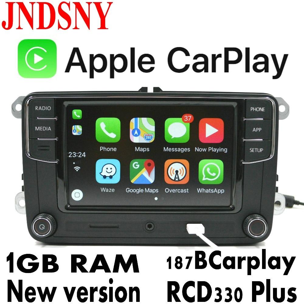 jndsny rcd330g carplay rcd330 plus carplay car radio for vw tiguan golf 5 6 jetta mk5 mk6 passat. Black Bedroom Furniture Sets. Home Design Ideas