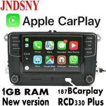 JNDSNY RCD330G CarPlay RCD330 Além de Rádio Do Carro Para VW Tiguan Golf 5 CarPlay 6 MK5 MK6 Polo Passat Jetta Touran 6RD 035 187B(China)