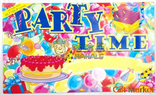 happy birthday decoration Thematic wall souvenir party time