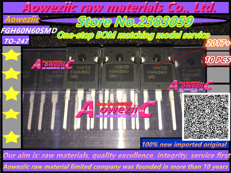 100% nuevo tubo de potencia de soldadura original FGH60N60 - Juegos y accesorios