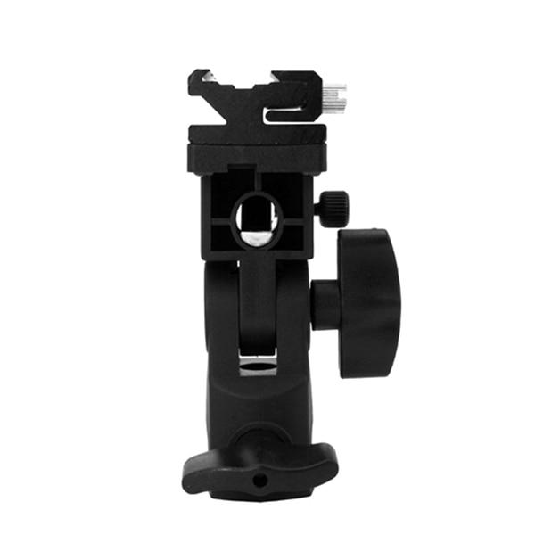 B Typ Flash Hot Shoe Adapter Schirmhalter Swivel Light Stand Bracket