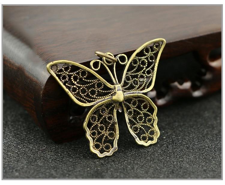 Hollow Butterfly Keychain Pendants (3)