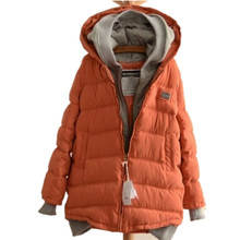 Womens Coats And Jackets Winter New Arrivals Parka Winter Coat Hooded Thick Wadded Cotton Jacket Parkas,Jaqueta Feminina DM203
