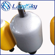 pressure accumulator hydraulic charging bladder type NXQ-1.6/31.5-L volume 1.6L 315bar