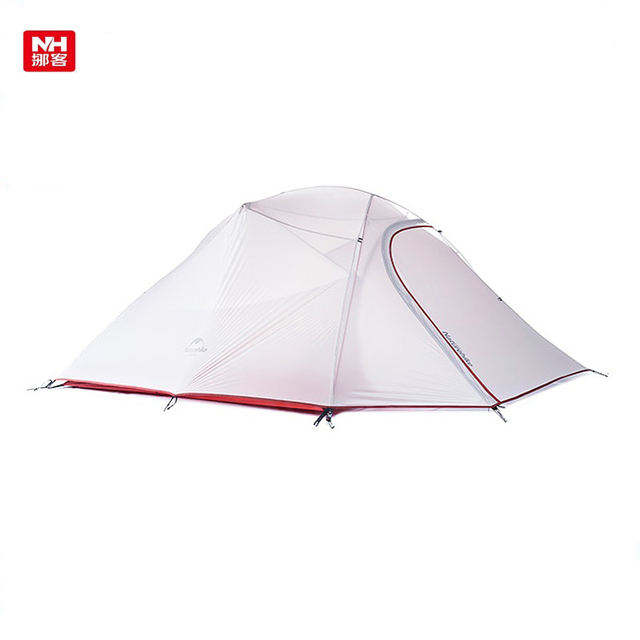 NatureHike NH15T003-T Ultralight 3-4person Camping tent 20D Silicone Fabric Outdoor Waterproof Tent Bedroom