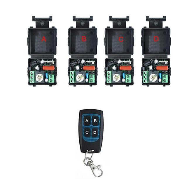 AC 220V 1CH 433MHz Wireless Remote Control Switch control electric appliance