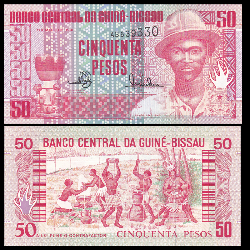 2019 LOT 10 Notes UNC Banknote Guinea 500 Francs p-new 2018