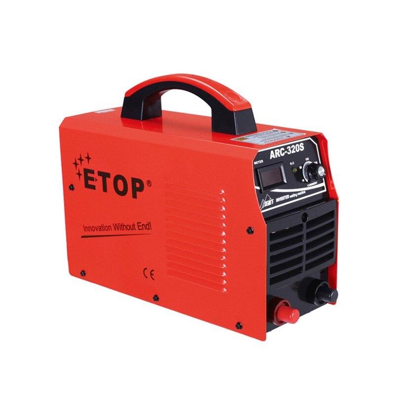 Дуговой сварочный аппарат постоянного тока IGBT инверторный Сварочный аппарат DC электросварочный инструмент 3.9KVA 220В ARC 320S штепсельная вилка