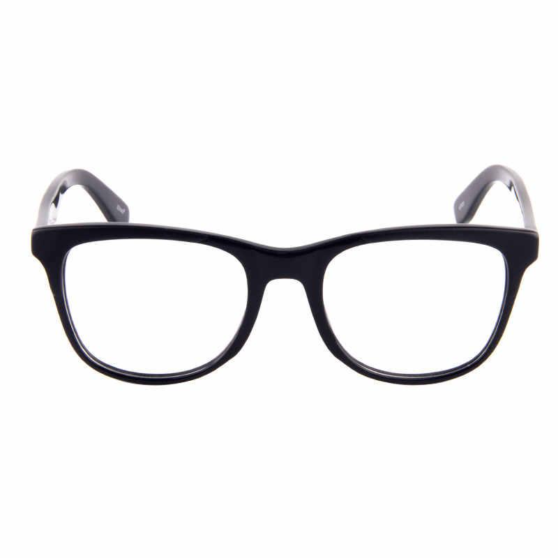 Gmei Optik Baru Gaya Klasik Bulat Hypoallergenic Asetat Penuh Rim Wanita Optik Kacamata Bingkai Kacamata Warna Hitam