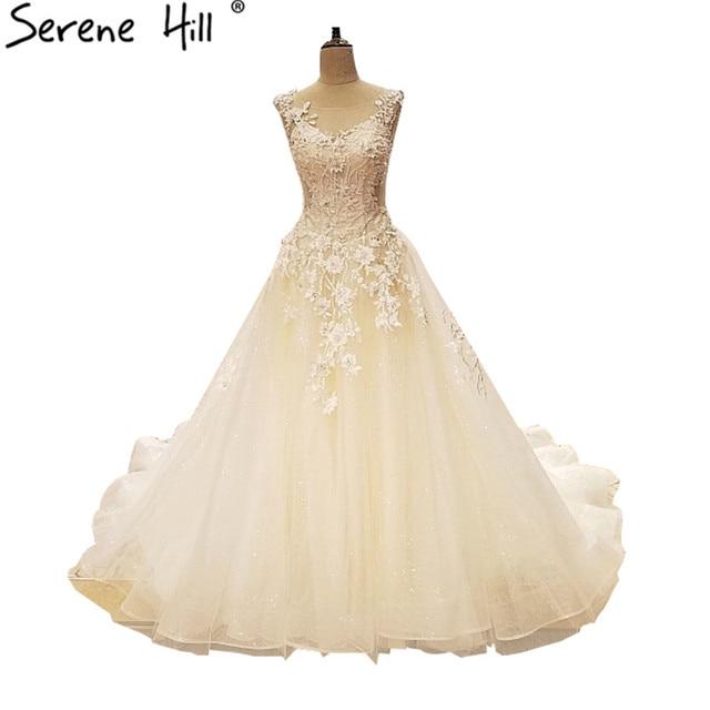 2018 Latest Wedding Gown Designs Crystal Beading Bridal Dress Sexy Tulle Vestido De Noiva