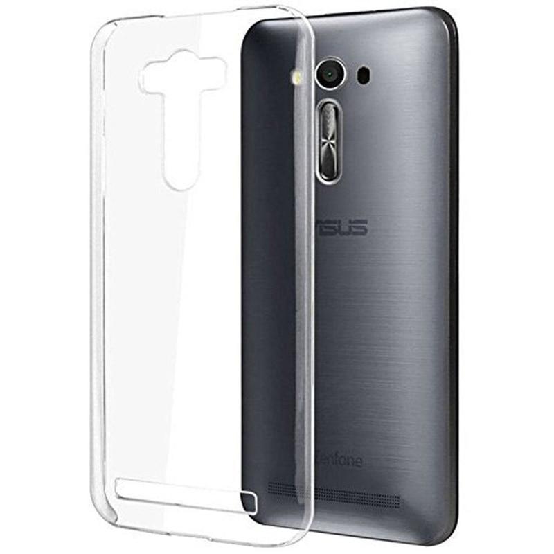 Zenfone Selfie Прозрачный чехол кожи против царапин Тонкий Мягкий Crystal Clear чехол для Asus Zenfone Selfie ZD551KL случае крышка