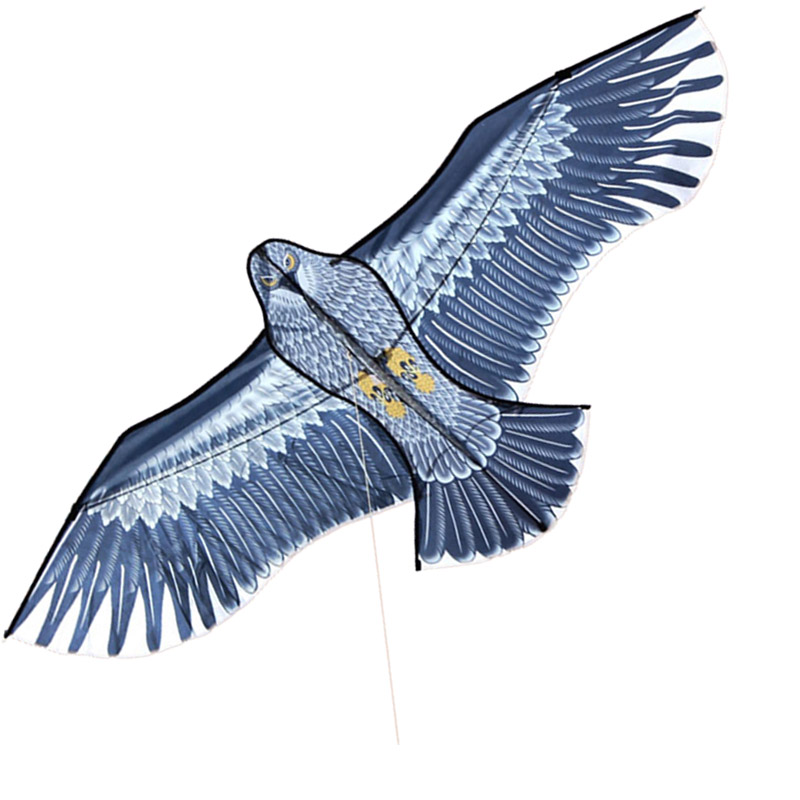 Free Shipping New Toys brand 1.6m Huge Eagle Kite With String Novelty Toy Kites Eagles Large Flying For Gift