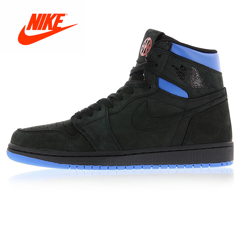 Original New Arrival Authentic Nike Air Jordan 1 Retro Q54 Quai 54 Men's Basketball Shoes Outdoor Cushioning Shoes Good Quality