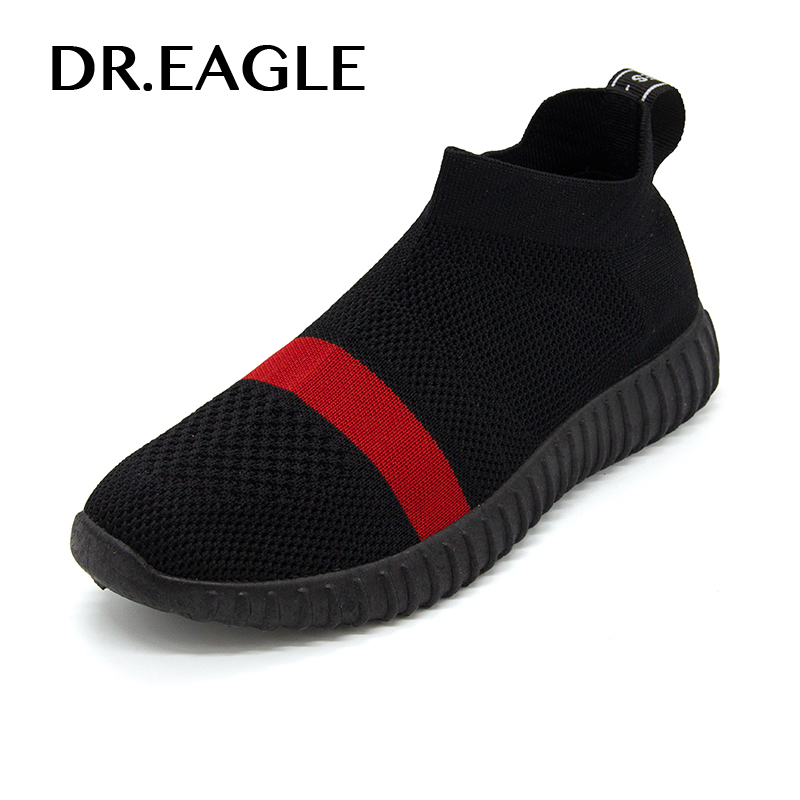 DR.EAGLE Women Running shoes womens sneakers Female Non Slip Damping Outdoor women sport Walking Shoes with sock sneakers