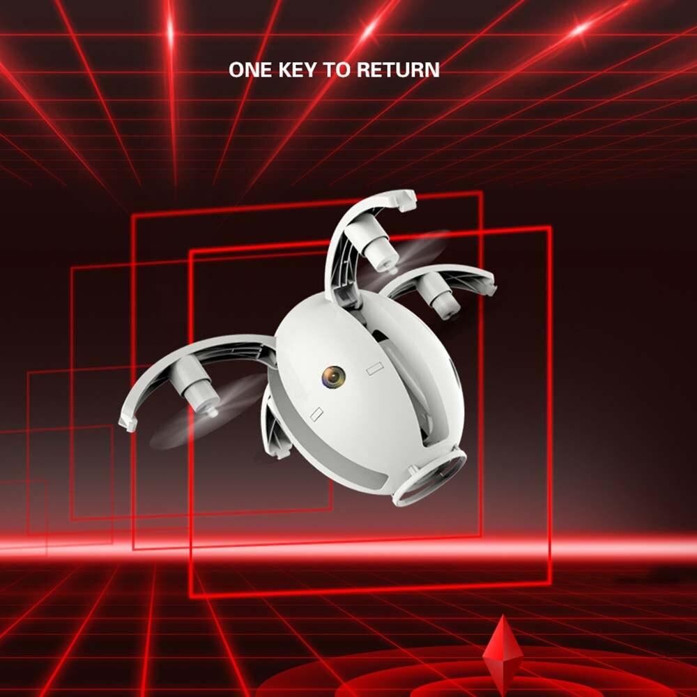 Новое поступление KaiDeng K130 складной мини Дрон с Wi Fi камерой один ключ возврата Atuo Hover Предотвращение препятствий Радиоуправляемый Дрон вертолет - 5