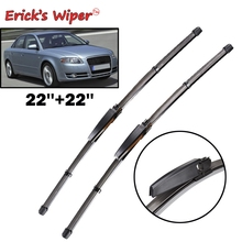 "Ericks Wiper LHD Front Wiper Blades For Audi A4 B7 S4 RS4 2004   2008 Windshield Windscreen Front Window 22""+22"""