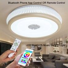 hot deal buy bluetooth music ceiling lights led modern lights guest room remote control kids lighting ceiling with speaker veayas