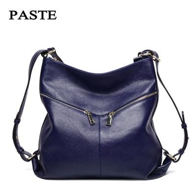 2017 Genuine Leather Bag Female Bags Handbags Women Famous Brands Shoulder Bags Women Bag Female Bolsa