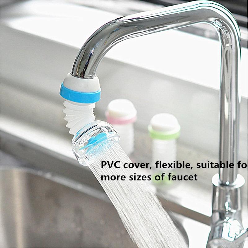 Universal 360 Rotation Water Faucet Bubbler Swivel Water Saving Economizer Head Shower Bathroom Kitchen Faucet Nozzle Adapter