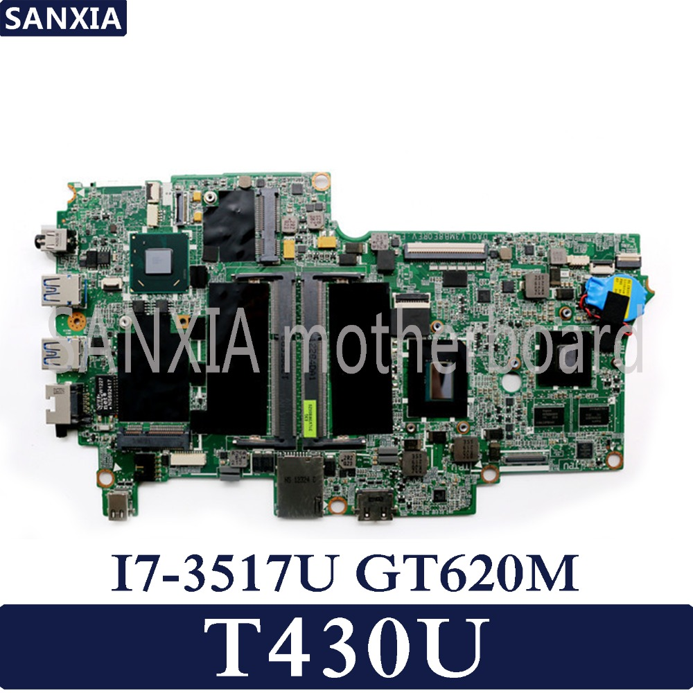 KEFU Laptop motherboard for Lenovo Thinkpad T430U Test original mainboard I7-3517U/3537U GT620MKEFU Laptop motherboard for Lenovo Thinkpad T430U Test original mainboard I7-3517U/3537U GT620M