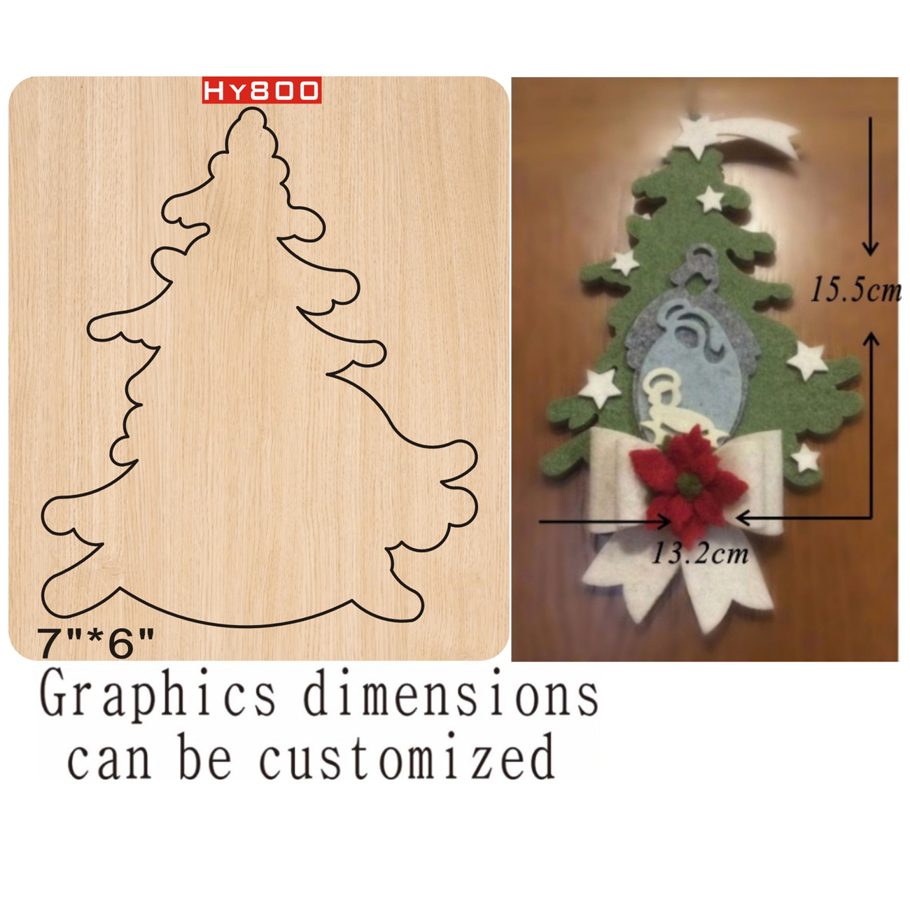Tree  Cutting Dies 2019 Die Cut & Wooden Dies Suitable  For Common Die Cutting  Machines On The Market