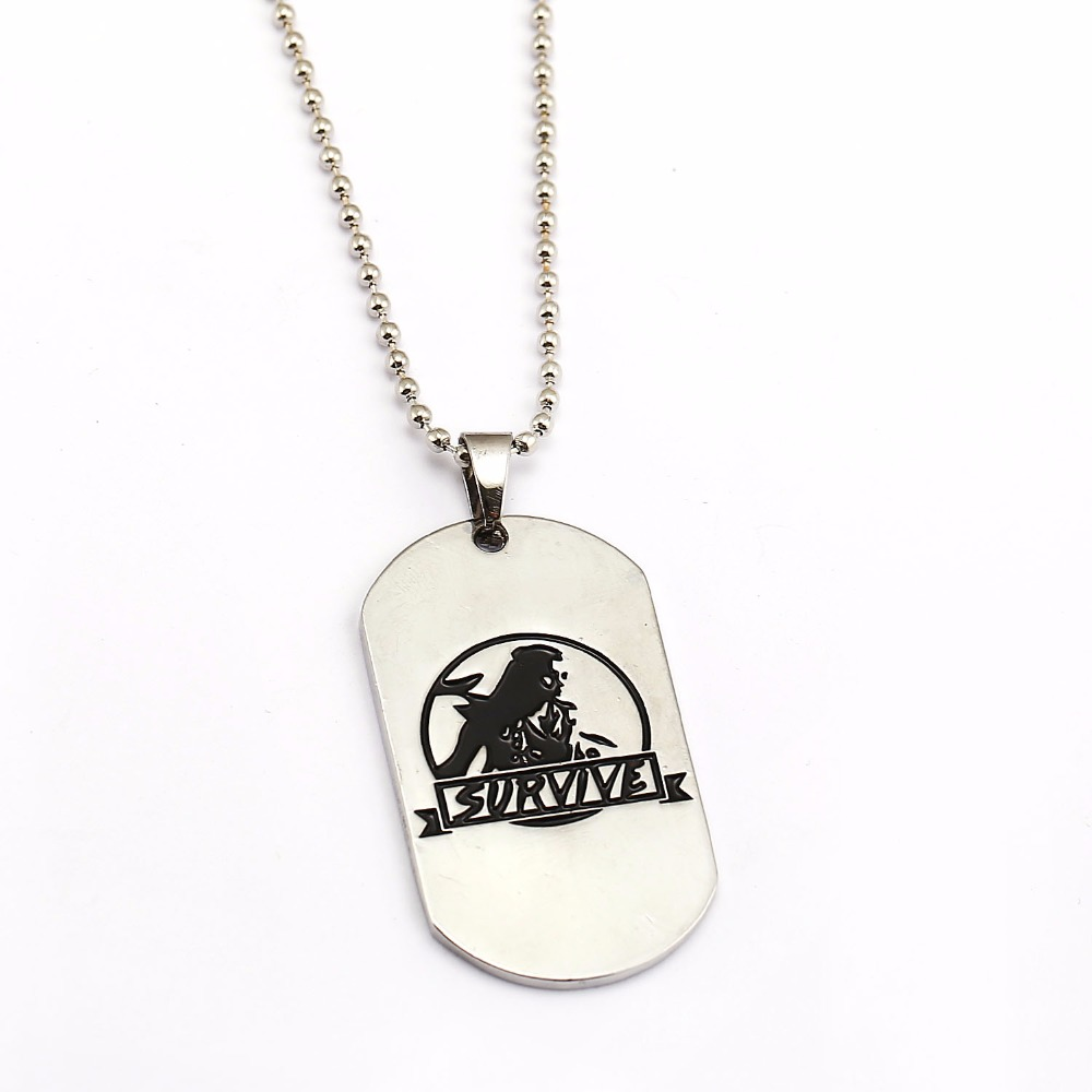 Game Survive Dog Brand Necklace Horizon Band Pendant Jewelry Necklace For Men Women Gits