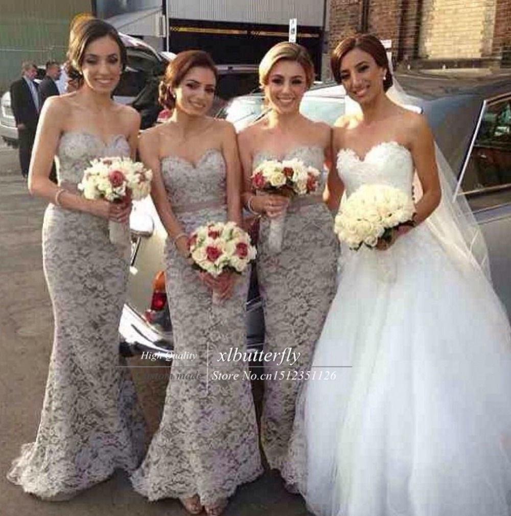 Small Of Gray Bridesmaid Dresses