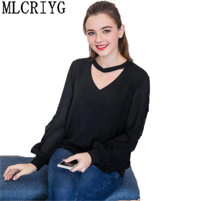 2019 nouveau T Shirt femmes papillon manches T-shirt femme hauts grande taille 5XL noir évider col en v T-shirt femmes décontracté hauts LX15
