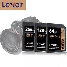 الأصلي إكسر 667x SD بطاقة U3 SDXC UHS I 128GB SD Kaart 256GB الدرجة 10 V30 كارت SD 32 GB 64 GB ل 1080p 3D 4K فيديو كاميرا