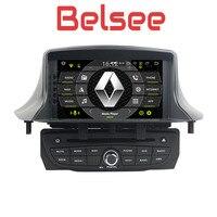 Belsee Автомагнитола Android 8,0 навигации мультимедийный DVD Renault Megane MK3 3 III Fluence 2009 2010 2011 2012 2013 2014 2015 2016