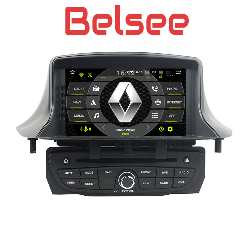 Belsee Car Radio Android 8.0 Navigation Multimedia DVD