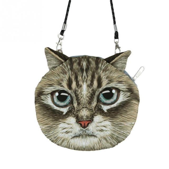 Great Cat Zipper Bag