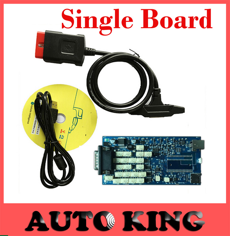 Single board Quality A 2014 R2 Free Keygen New VCI CDP TCS CDP Pro For mvd
