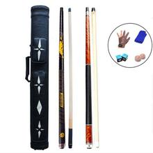 PREOAIDR 3142 8K4 8 Pieces Wood Laminated Technology Shaft Billiard Pool Cue+BK3 Punch Jump Cue+Pool Cue Case+Glove+Gifts Set