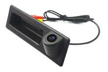 Беспроводной ПЗС провод ночного видения парковки камеры для BMW F10 F11 F25 F30 BMW 3 серии 5 серии X3 заднего вида Trunk ручка камеры