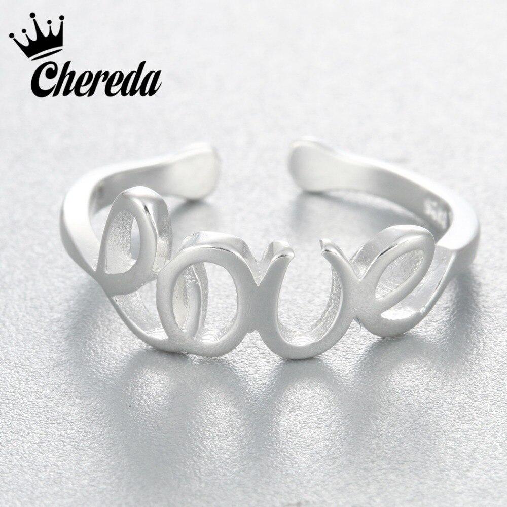 Череда Серебряный Forever Love вечность обещание Свадебные Кольца украшения для Для женщин Обувь для девочек ювелирные изделия