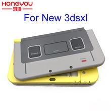 Cho 3DSXL LL Dành Cho Máy Nintendo New 3DS LL SNES Phiên Bản Giới Hạn Ốp Lưng Thay Thế Full Nhà Ở Vỏ Ốp Lưng