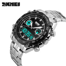 Analog Digital Dual Display Watch