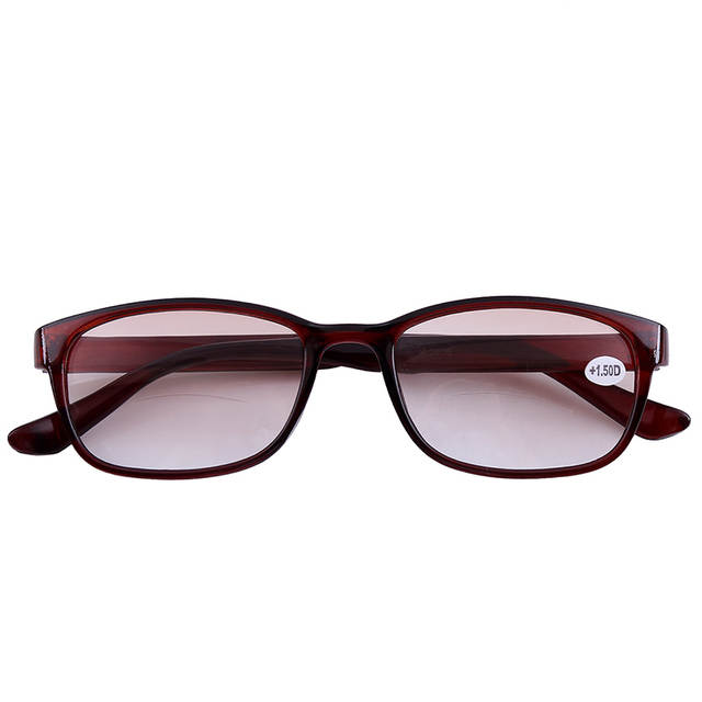 79a32d559f59 2x Tinted Bifocals Reading Glasses Mens Womens Sun Readers Eyewear Office  Home Eyeglasses +1.00 to
