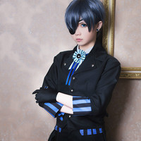 Ciel Phantomhive Cos Japan Clothes Carnaval Costume Cosplay Halloween Man Woman Black Butler Kuroshitsuji Cosplay Costumes