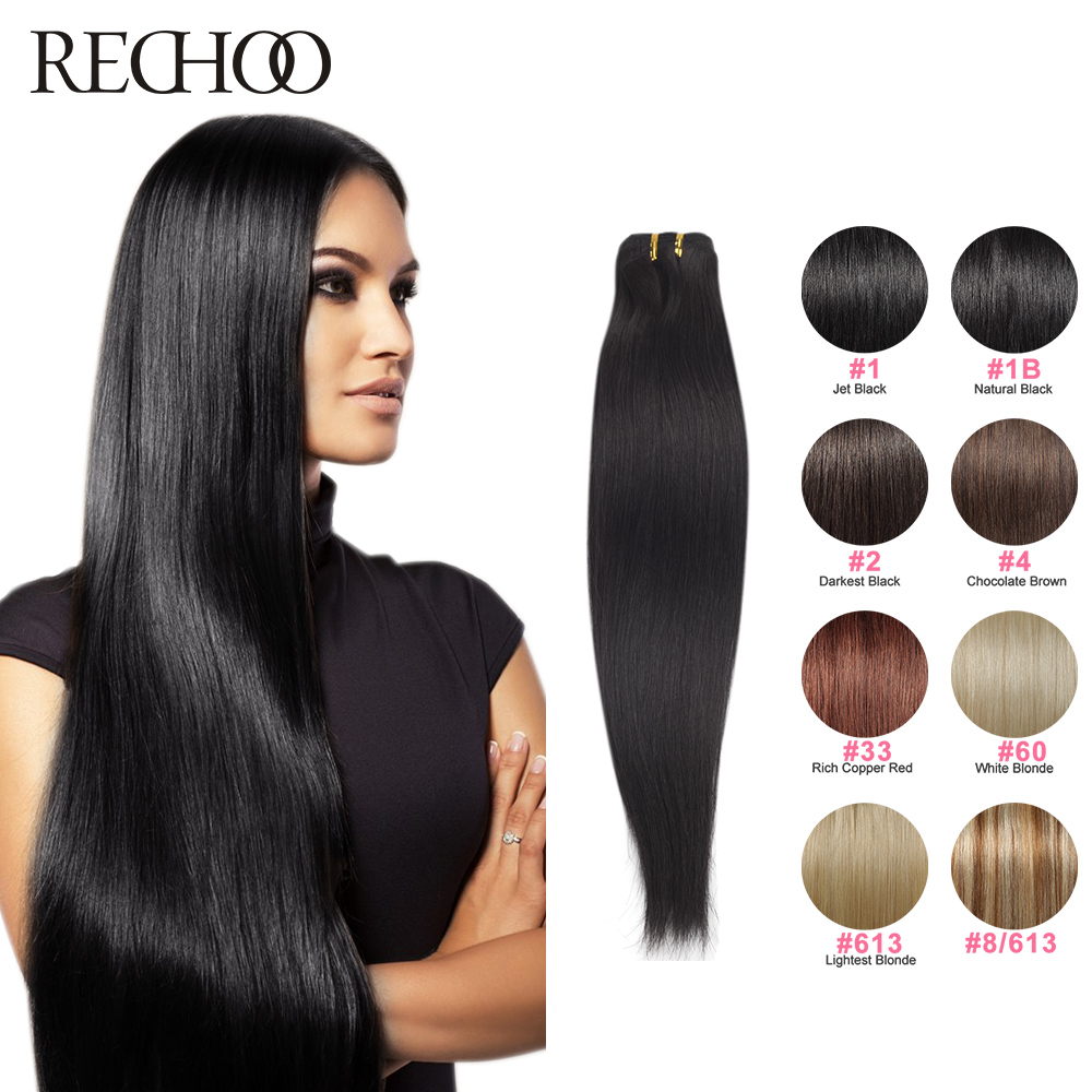 24 Inch Human Hair Weave Extensions Remy Indian Hair