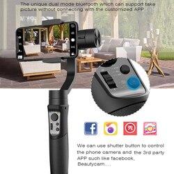 Hohem iSteady Mobile 3-Axis Handheld Gimbal Stabilizer for Gopro sjcam action camera iPhone SamsungPK smooth 4 vimble 2 DJI OSMO