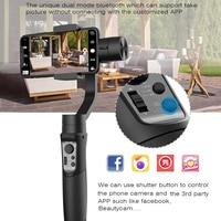 Hohem iSteady Mobile 3 Axis Handheld Gimbal Stabilizer for Gopro sjcam action camera iPhone SamsungPK smooth 4 vimble 2 DJI OSMO