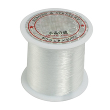 LGFM-0.2mm Diameter Clear Nylon Fish Fishing LIne Spool Beading StRing